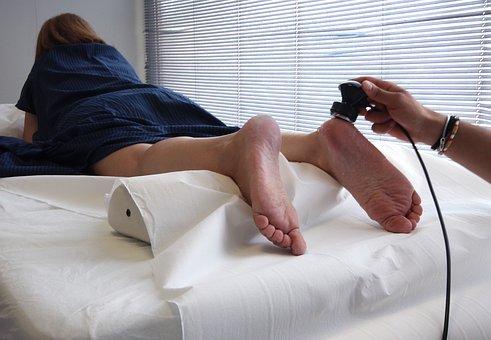 ortopedyczny klin pod stopę